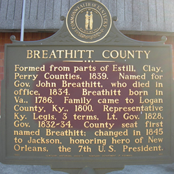 Breathitt County, KY